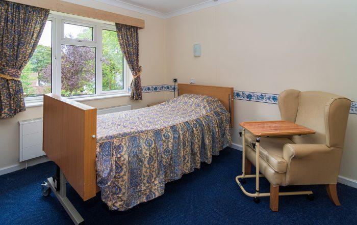 Seven Arches Nursing Home Bedroom