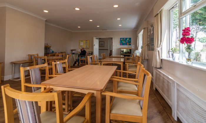 Woodlands Care Home Lounge